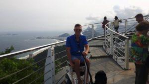 Widok na plażę w Rio de Janeiro