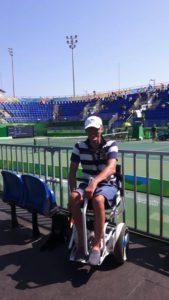 Blumil na stadionie w Rio