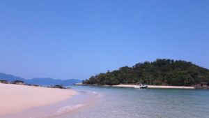 Widok na brazylijską plażę