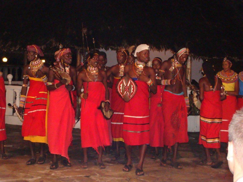 Kenia - lokalny taniec