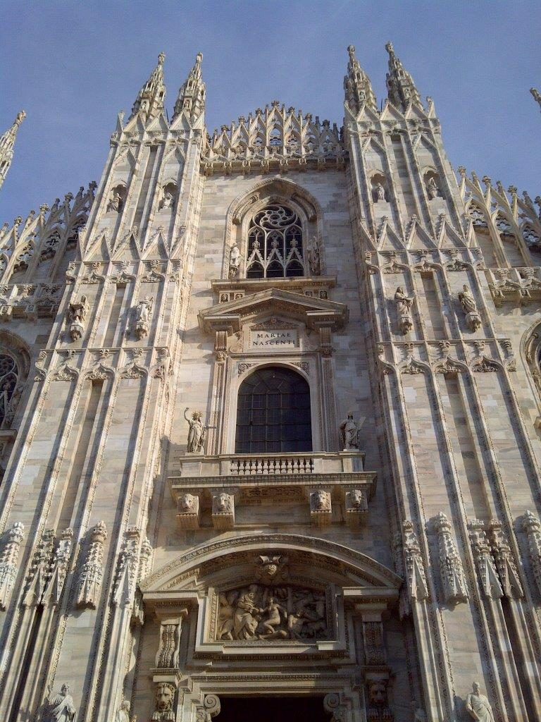 Portal katedry Duomo w Mediolanie