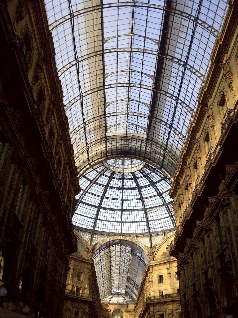 Sklepienie katedry Duomo w Mediolanie