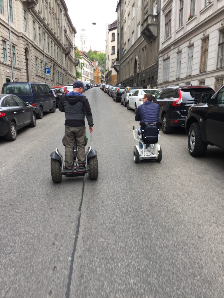 Blumil i Segway - wycieczka po Budapeszcie.