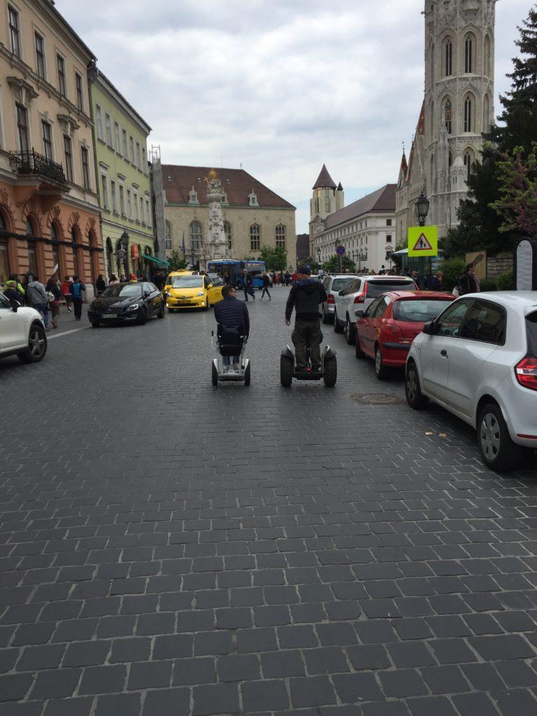 Przejażdżka po Budapeszcie na Blumil i Segway