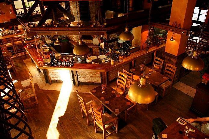 Wnętrze restauracji LaCantina
