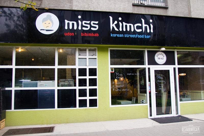Wejście do lokalu miss kimchi