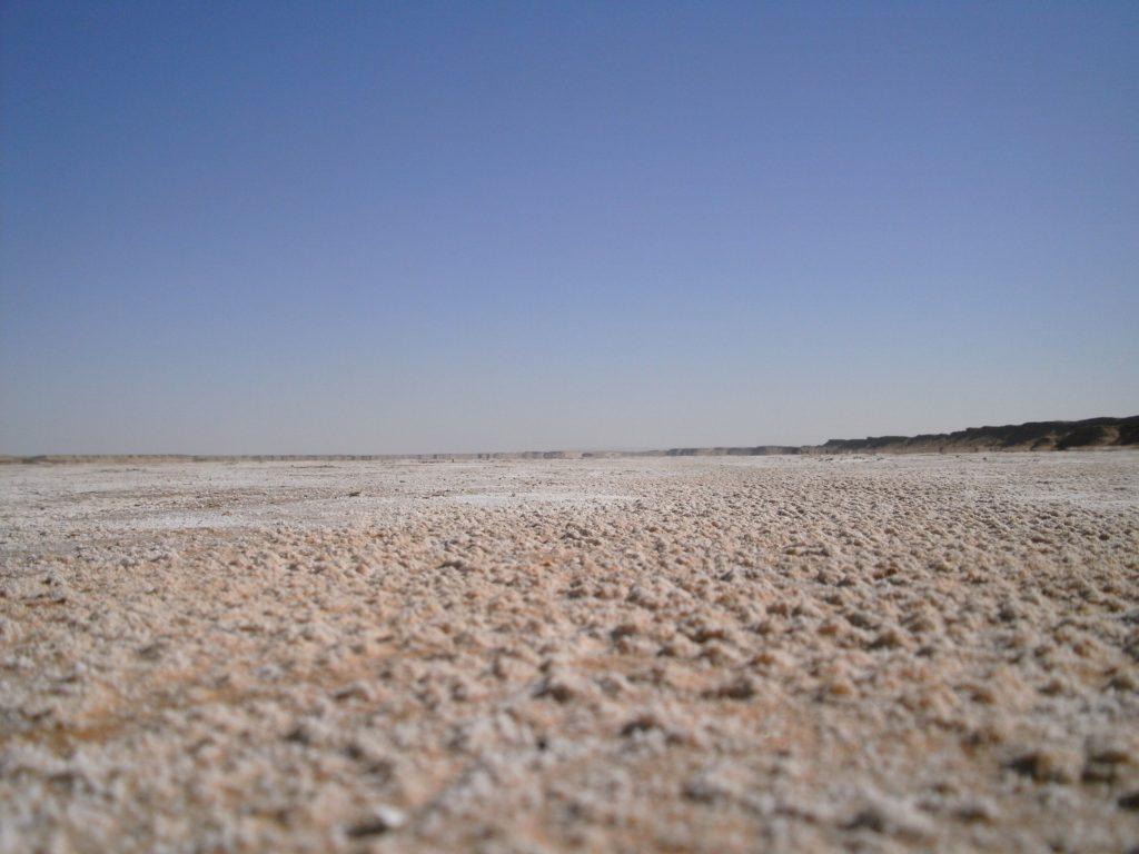 Piaszczysta plaża w Tunezji - trudno na niej bez Blumil