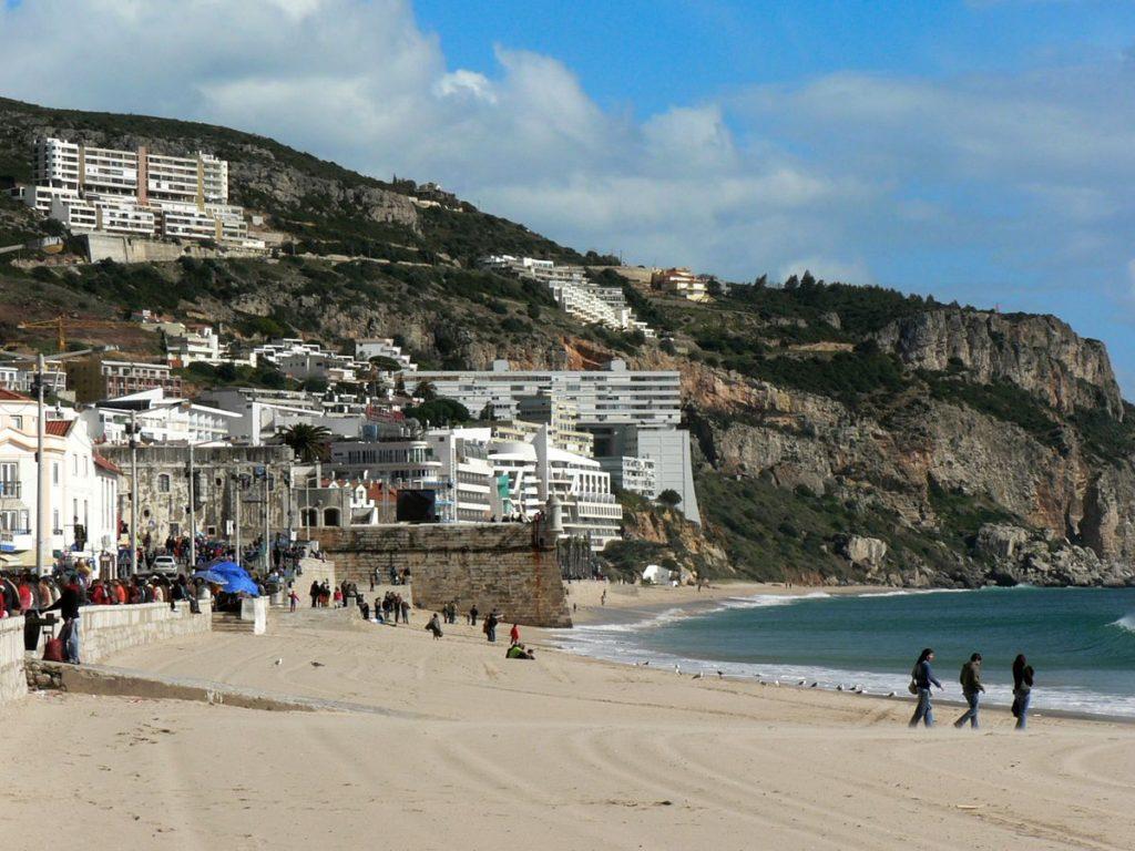 Co za plaża dla Blumi