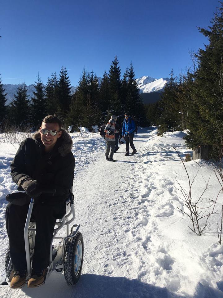 Blumil w górach