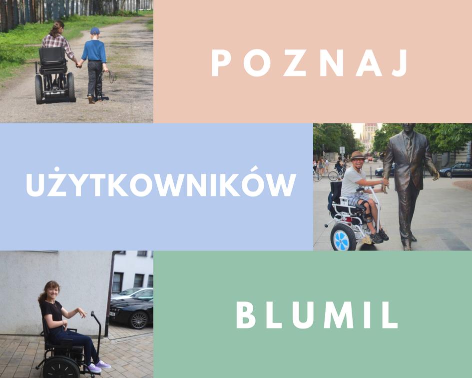 Użytkownicy wózków elektrycznych Blumil; wózek elektryczny, wózek inwalidzki, turystyka bez barier