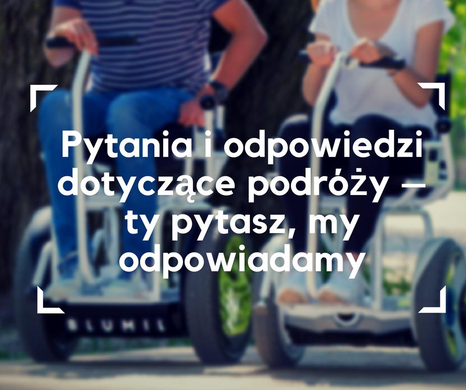q&a, wózek elektryczny, wózek inwalidzki, turystyka bez barier, podróże dla wózkowiczów